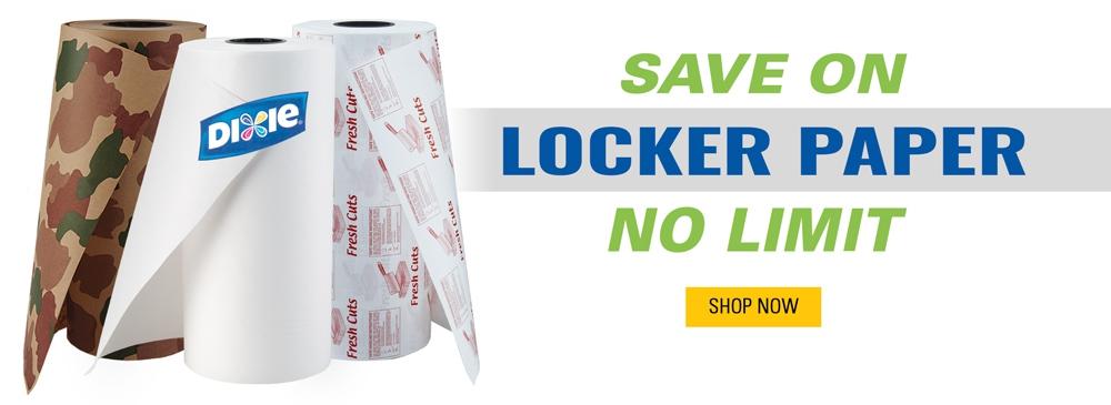 Save on Locker Paper
