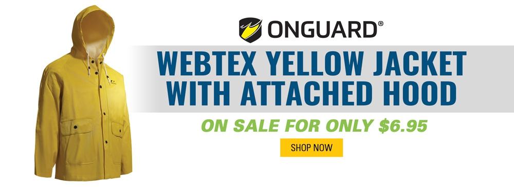 OnGuard Webtex Yellow Jacket on Sale