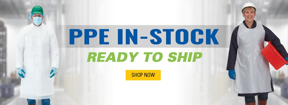 PPE In-Stock and Ready to Ship