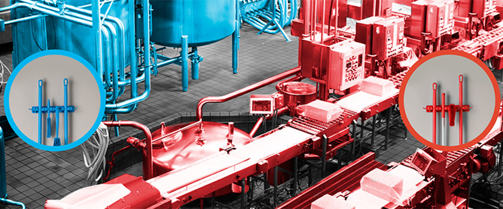 Why Color-Coding Should be a Part of your Food Processing Facility's Operations