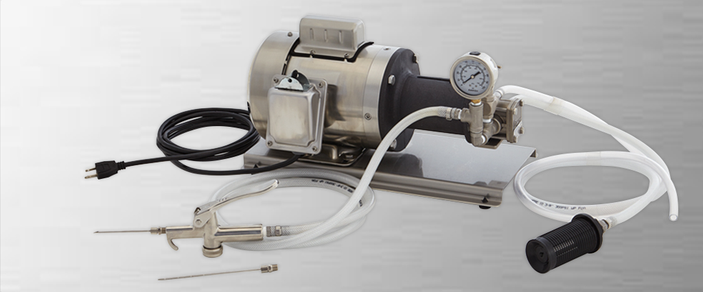 Cure-It Stainless-Steel Injector